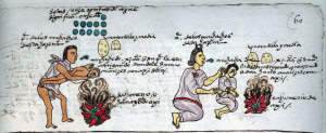 Aztec children were punished by being held over the flames of burning chili peppers.